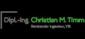 Dipl.-Ing Christian M. Timm